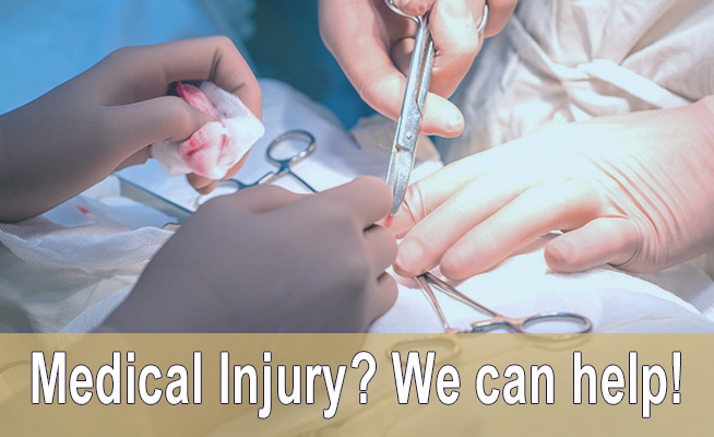 medical injury call now