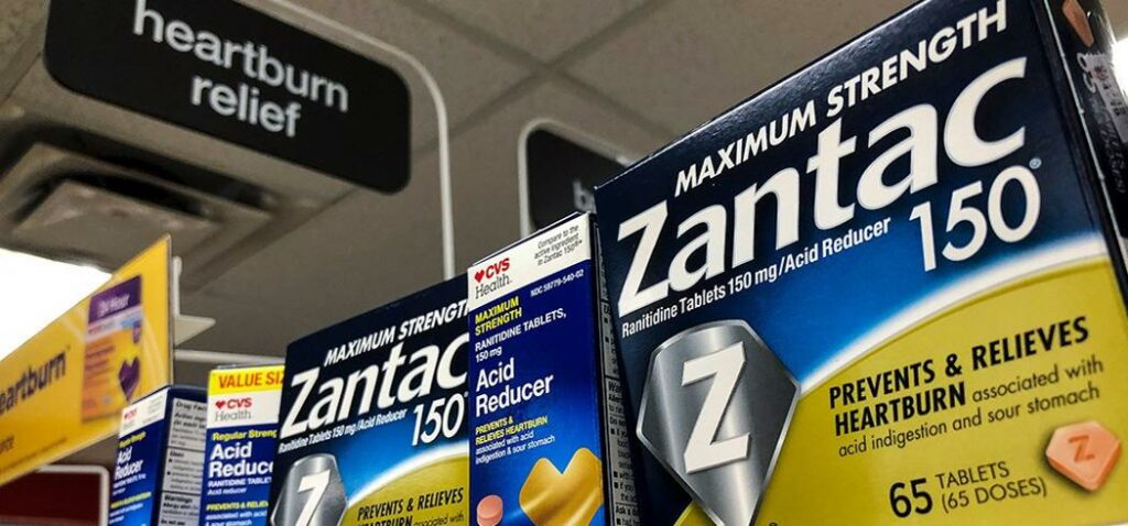 Zantac heartburn medicine recalled