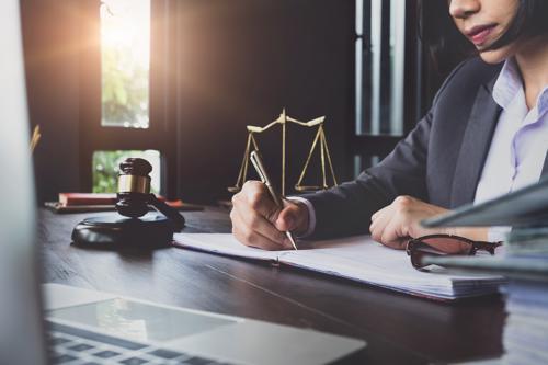 An attorney reviewing an Invokana injury claim