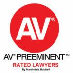 AV Preeminent Rated Lawyers